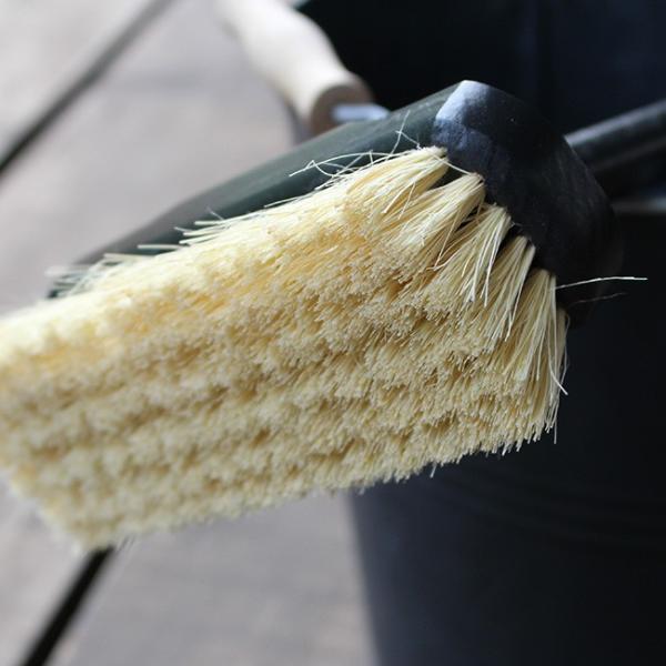REDECKER デッキブラシ  レデッカー ほうき おしゃれ 玄関 バルコニー 大掃除 ブルー ブラック|kajitano|03
