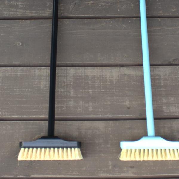 REDECKER デッキブラシ  レデッカー ほうき おしゃれ 玄関 バルコニー 大掃除 ブルー ブラック|kajitano|04