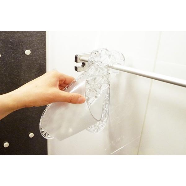 フットライフ バスサンダル  Mサイズ 全4色 バススリッパ FOOTLIFE in the bath バスインザバス お風呂 風呂掃除 レディース 22.5-24.5cm|kajitano|02