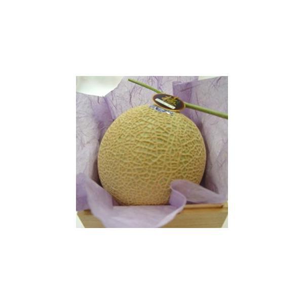 静岡県産 クラウン マスクメロン 大玉  木箱入り 国産メロンの最高級品  ガラス温室で栽培されたフルーツの王様 お歳暮 ギフト