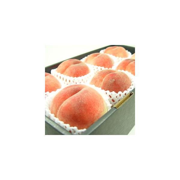 山梨県産 桃 白鳳 大玉8個入り  白鳳系ももの中で最も美味しい一つ! お中元ギフト 出荷予定期間:7月15日〜7月25日