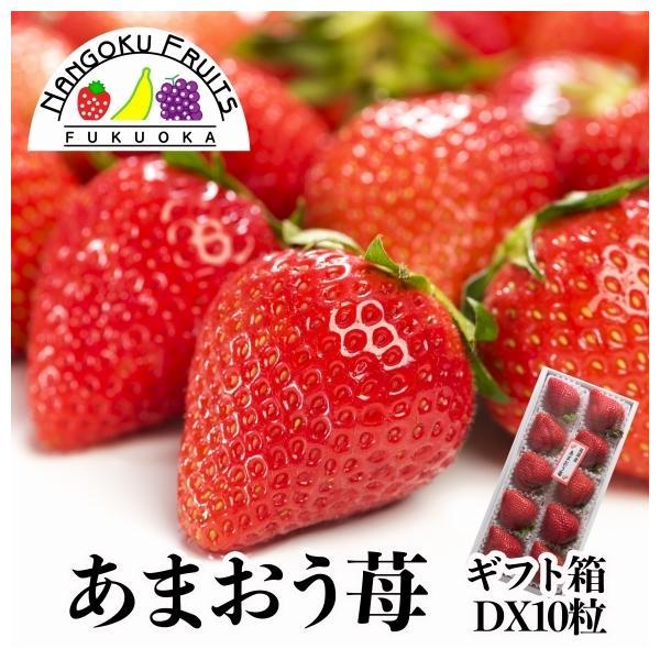 【予約販売】福岡産 あまおう苺 10粒ギフト箱
