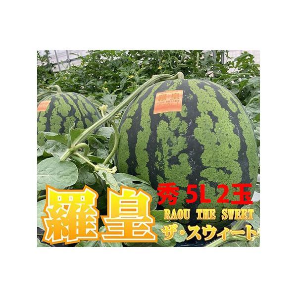 尾花沢スイカ 袖崎 大玉スイカ 祭りばやし 777 スリーセブン 秀3L〜4L 2玉入 り山形県村山市 送料無料