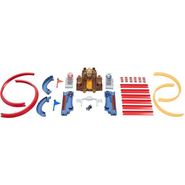 ホットウィール(Hot Wheels) マリオカート クッパ城からの脱出 セット専用:ブルーヨッシー1台付き5歳~ GNM22|kakenukete|11
