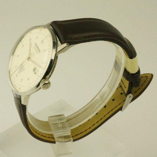 ユンカース JUNKERS バウハウス BAUHAUS クォーツ アナログ式 革バンド 航空時計 ドイツ製 腕時計
