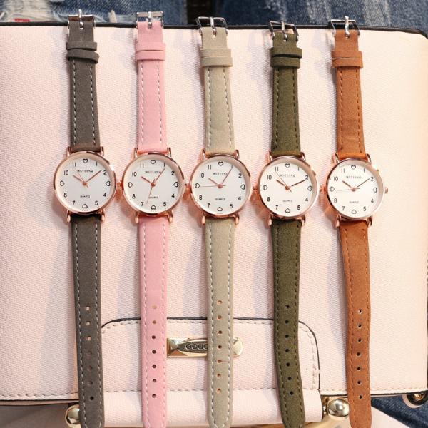 バーゲンセール 在庫処分値下げ腕時計アナログレディースカジュアルクォーツ時計ウォッチ5色カラフルおしゃれ女性ギフトWs-W-D