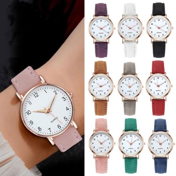 バーゲンセール 腕時計アナログレディースカジュアルクォーツ時計ウォッチファッション5色カラフルおしゃれ女性ギフトWs-W-H