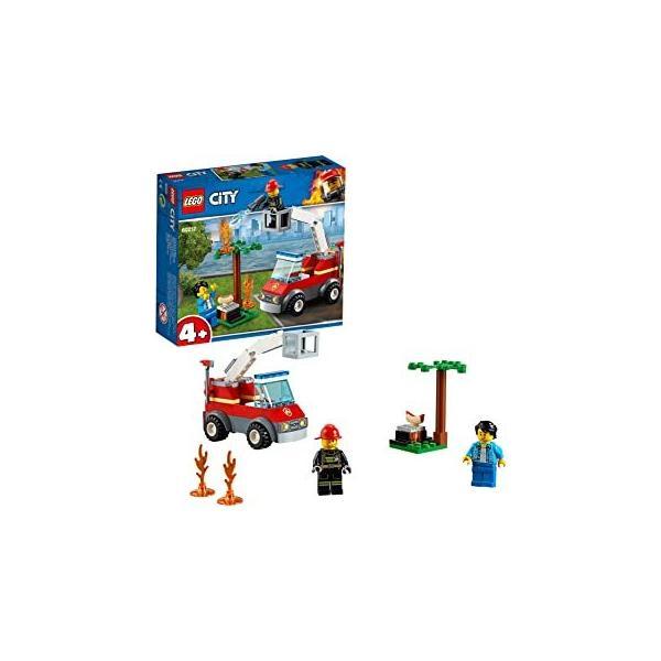 レゴ(LEGO)シティバーベキューの火事60212レゴブロックレゴシティおもちゃ4歳消防車車ミニフィグセット