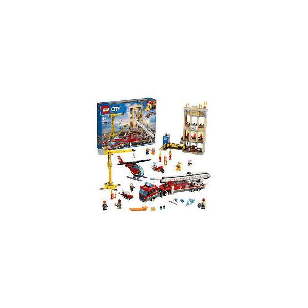 レゴ(LEGO)シティレゴシティの消防隊60216ブロックおもちゃ男の子車レゴブロックレゴレゴシティ消防消防車ミニフィグおもちゃ