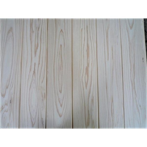 杉 白羽目板 2セット以上で5%OFF 白幅広の無垢板は激レア ホンザネV 無節・上小 1900*135*10 サンダー仕上 11枚 0.9坪 kakouita-teshima