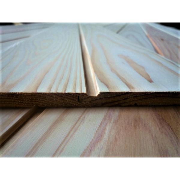杉 白羽目板 2セット以上で5%OFF 白幅広の無垢板は激レア ホンザネV 無節・上小 1900*135*10 サンダー仕上 11枚 0.9坪 kakouita-teshima 02