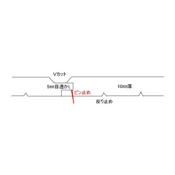 杉 白羽目板 2セット以上で5%OFF 白幅広の無垢板は激レア ホンザネV 無節・上小 1900*135*10 サンダー仕上 11枚 0.9坪 kakouita-teshima 03