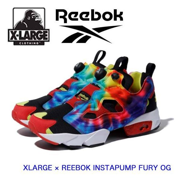XLARGE エクストララージ リーボック スニーカー 【XLARGE × REEBOK INSTAPUMP FURY OG】 靴 シューズ  ブランド コラボ 101204052001