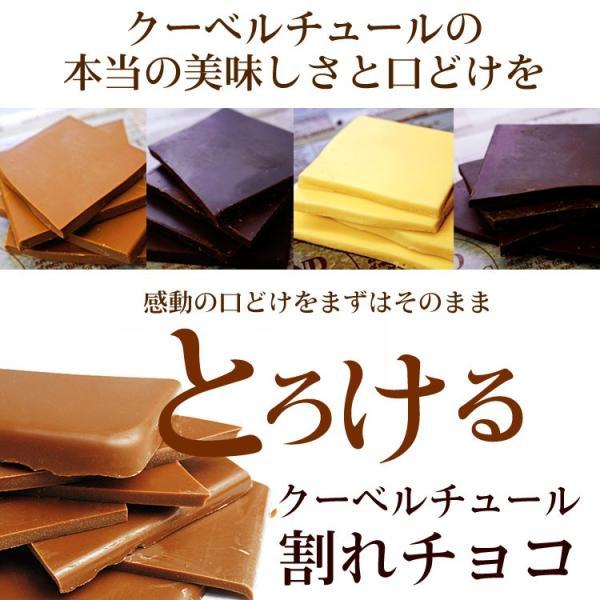 バレンタイン 割れチョコ チョコレート ミルク800g ギフト グルメ 訳あり クーベルチュール/自由が丘/チュベ・ド・ショコラ|kamachu-shop|02