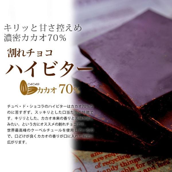 割れチョコ チョコレート  プレーン 各660g 選べる4種類 チョコ ミルク/ビター/ハイビター/ホワイト|kamachu-shop|09