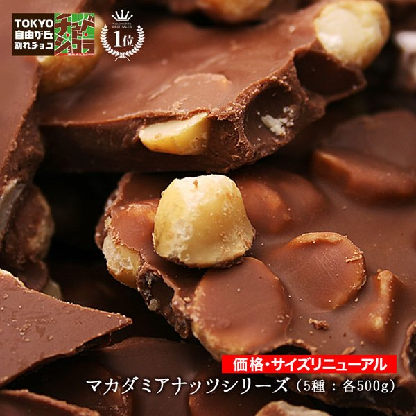 訳あり 割れチョコ 500g 選べる5種類 チョコレート チュベ・ド・ショコラ マカダミアナッツ 送料無料 グルメ ポイント消化|kamachu-shop