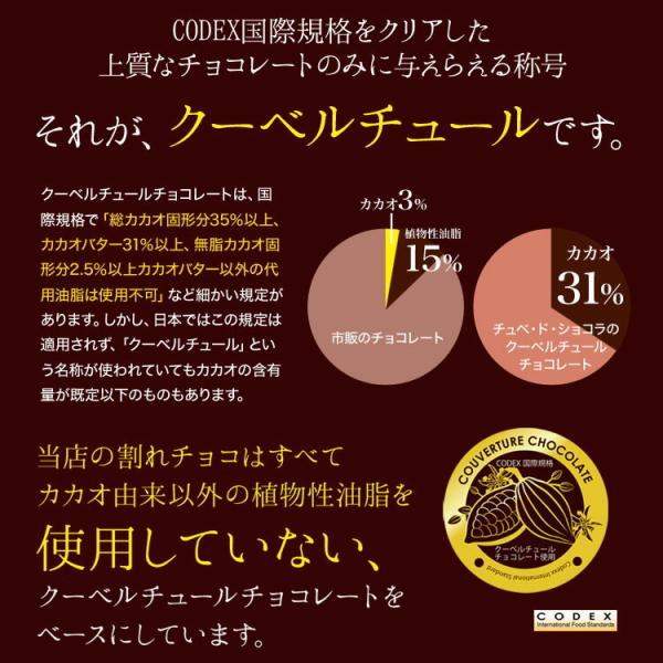 訳あり 割れチョコ 500g 選べる5種類 チョコレート チュベ・ド・ショコラ マカダミアナッツ 送料無料 グルメ ポイント消化|kamachu-shop|09