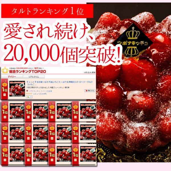 女神様のストロベリータルト フルーツタルト キュンとする甘酸っぱさ 大粒いちごたっぷり kamachu-shop 02