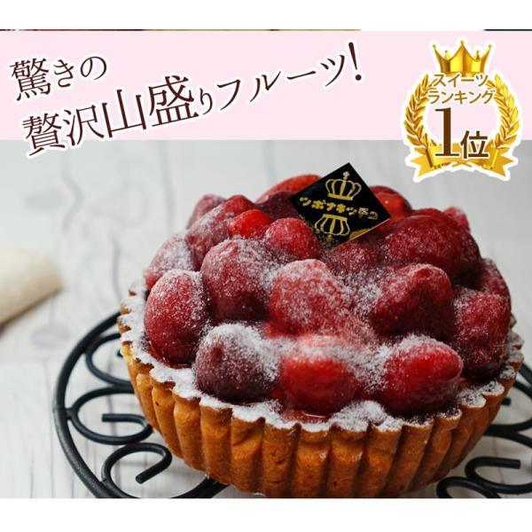 女神様のストロベリータルト フルーツタルト キュンとする甘酸っぱさ 大粒いちごたっぷり kamachu-shop 05