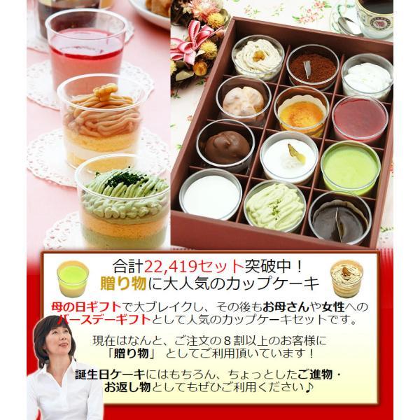 12種類のカップケーキ 女性 ギフト 母 誕生日プレゼント 誕生日 ケーキ スイーツ セット お菓子|kamasho|04