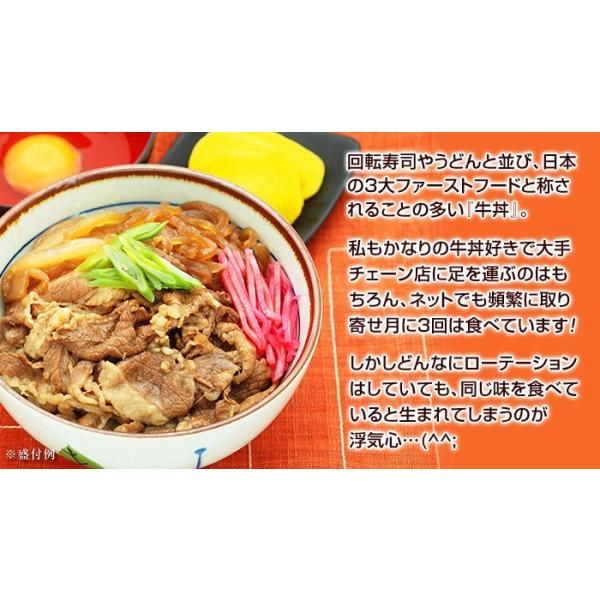 牛丼の具 冷凍 牛丼の素 日東ベストの牛丼DX 業務用 冷凍食品 185g入を5パック|kamasho|04