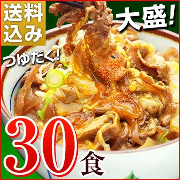 牛丼の具 冷凍 牛丼の素 日東ベストの牛丼DX 業務用 冷凍食品 185g入を30パック