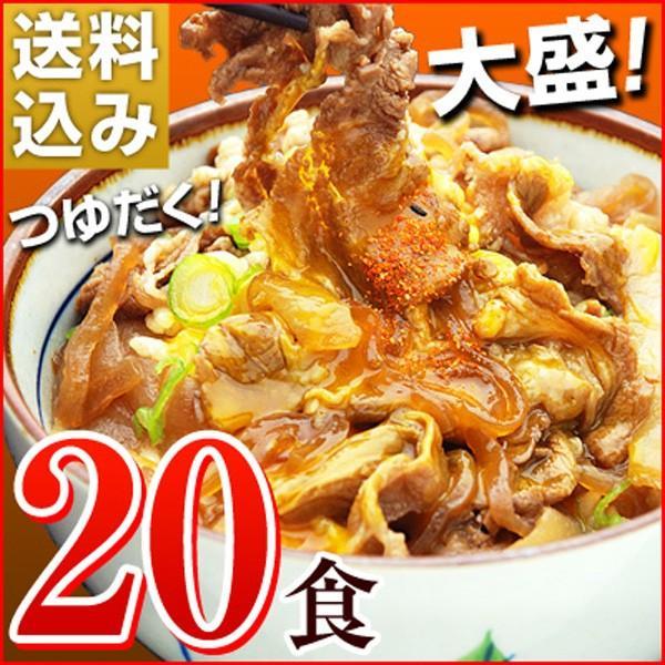 牛丼の具 冷凍 牛丼の素 日東ベストの牛丼DX 業務用 冷凍食品 185g入を20パック|kamasho