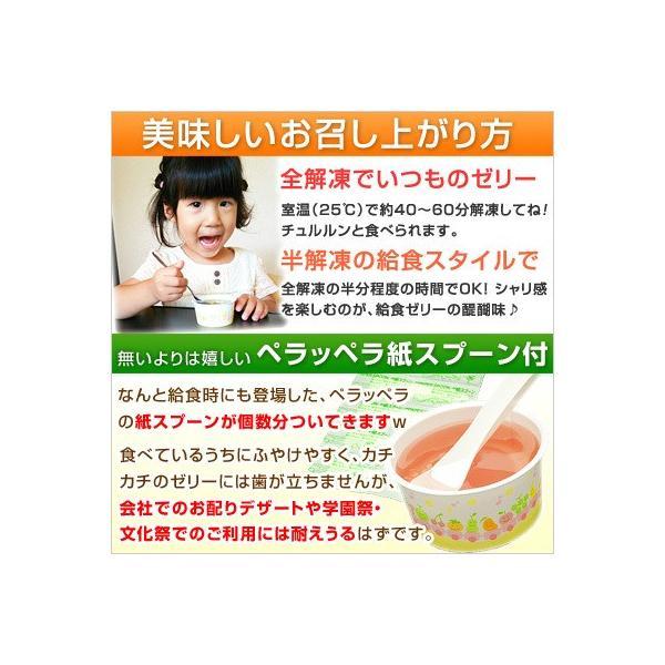 学校 給食 ゼリー 4種セット アセロラゼリー はちみつレモンゼリー ワインゼリー 青りんごゼリー 各5個 計20個|kamasho|02