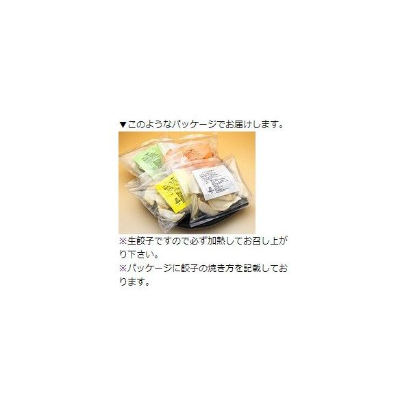 ふくしまギョーザ4種セット(肉餃子12ヶ、ピリ辛ぎょうざ12ヶ、ニンニクギョウザ12ヶ、ニラ餃子12ヶ)|kamasho|08