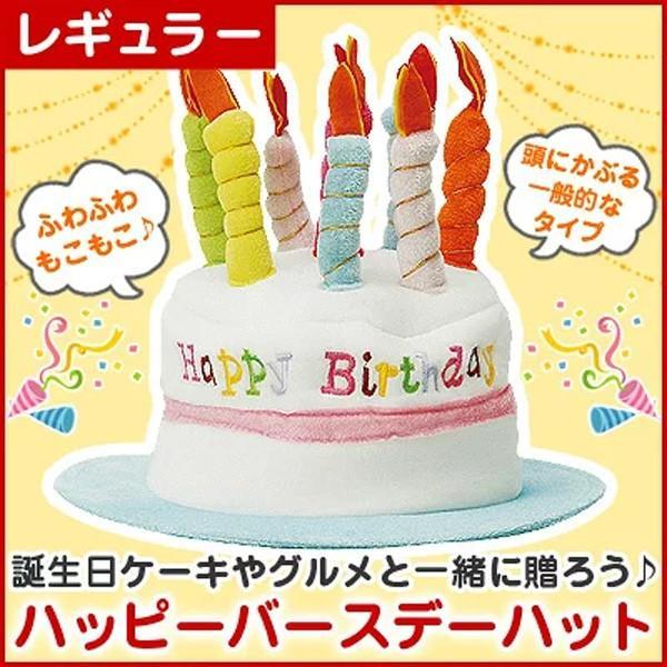 ハッピーバースデーハット (レギュラー 大人用 フリーサイズ) お誕生日会 パーティー帽子 パーティーグッズ|kamasho