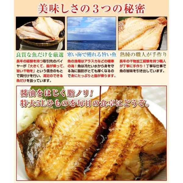 トロほっけ(シマホッケ)またはトロ赤魚を2枚選べる 特大 5Lサイズ 干物 セット ひもの|kamasho|07