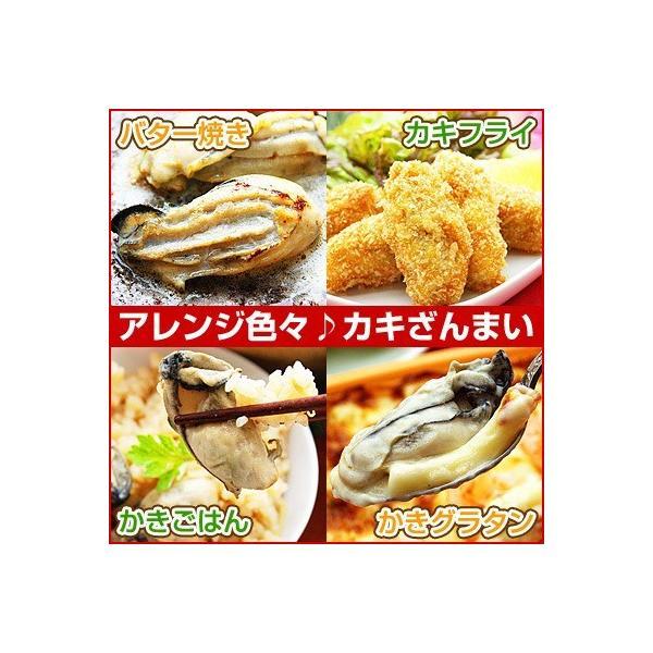 3Lまたは2L 選べる 牡蠣 大粒 カキ 国産 特大 冷凍牡蠣 剥き身 加熱用 広島県産 剥きカキ (総重量 1kg 内容量 850g )|kamasho|06