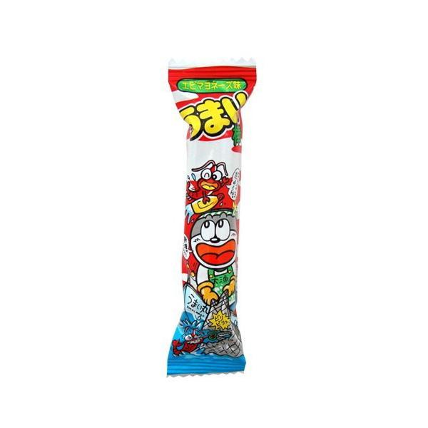 やおきん うまい棒 エビマヨネーズ味(エビマヨ) 1本(6g)×15本 ゆうパケット便 メール便 送料無料|kamenosuke|02