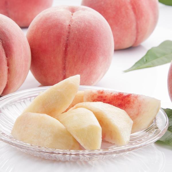 桃 福島県桑折町産 さくら白桃 ギフト品 約2kg(4〜6個) 農家直送 ふくしまプライド。体感キャンペーン(果物/野菜)|kameokakajuen|03