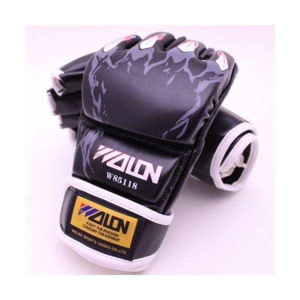 marushin オープンフィンガーグローブ パンチンググローブ 総合格闘技 MMA UFC トレーニング 拳ガード ハーフフィンガー グローブ テコ