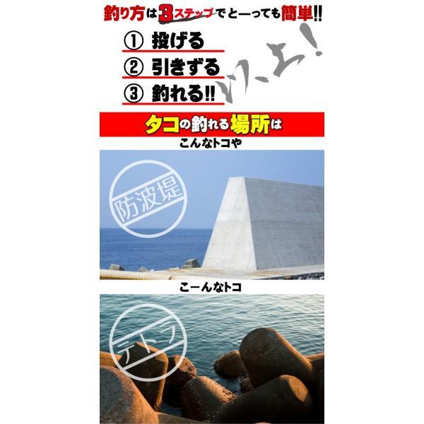 タコ釣り直行!スタッフ厳選!オクトパスハンターセット kameya-ec1 04