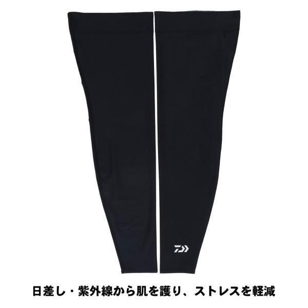 DAIWA ダイワ クールレッグカバー DA-52009 ブラック L (N)|kameya-ec1|02