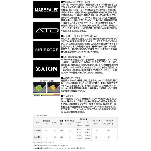 DAIWA ダイワ 18'プロカーゴ SS 5000遠投 (G) 2018年発売モデル
