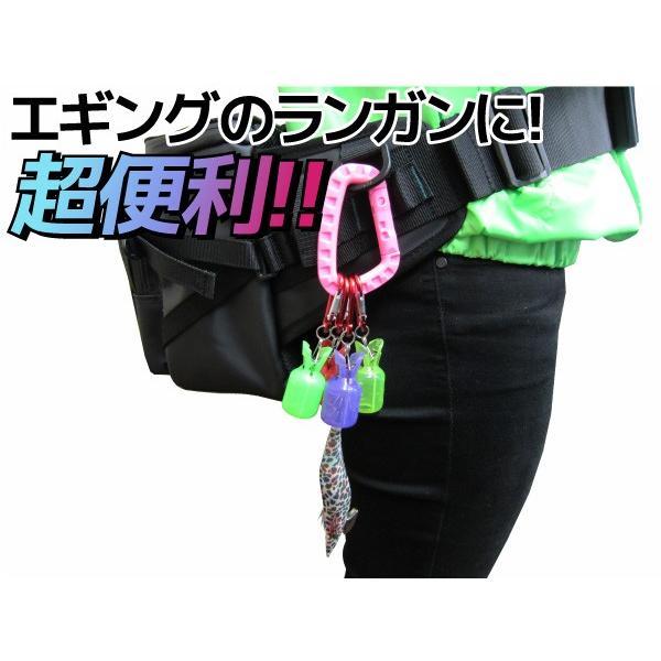 超絶便利!!ダイワ エギ付きイカラビーナ贅沢セット  (N)|kameya-ec1|03