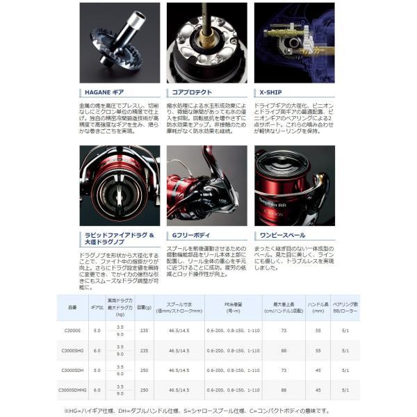 SHIMANO シマノ 18 Sephia BB セフィア BB C3000S 2018年発売モデル|kameya-ec1|03