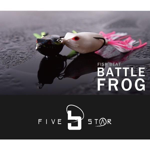 FIVE STAR ファイブスター Fish Beat BATTLE FROG フィッシュビート バトルフロッグ ブラックバス フロッグ ルアー