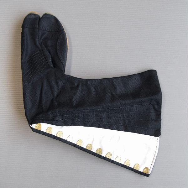 足袋 祭り たび 祭足袋 ジョグ 地下足袋 祭り足袋 黒 ロング 12枚鞐 まつり 祭り用品 〜30cm nmd-5933|kameya|03