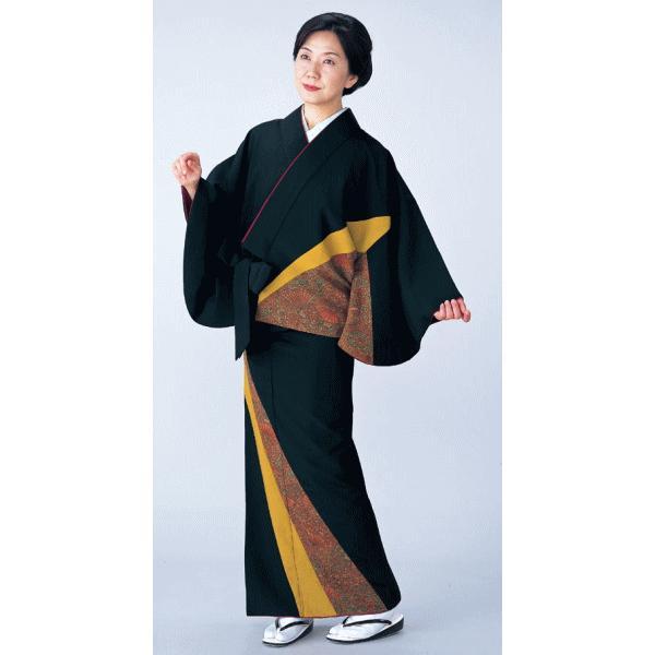 二部式着物 レディース キルト 袷 セパレート 2部式 着物 旅館 ユニフォーム 洗える着物 更紗 kz|kameya