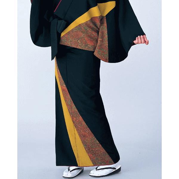 二部式着物 レディース キルト 袷 セパレート 2部式 着物 旅館 ユニフォーム 洗える着物 更紗 kz|kameya|02