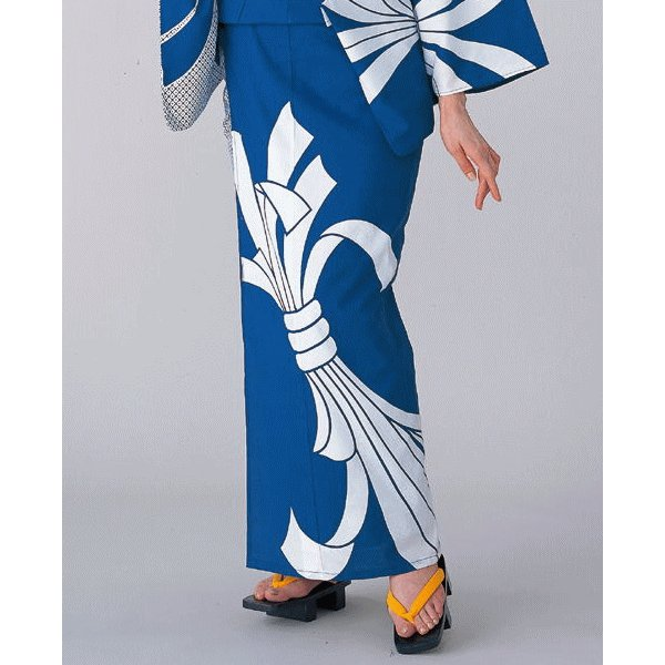 浴衣 ゆかた 反物 レディース メンズ 盆踊り 祭り ユカタ 踊り 絵羽浴衣 観世水 kameya 02