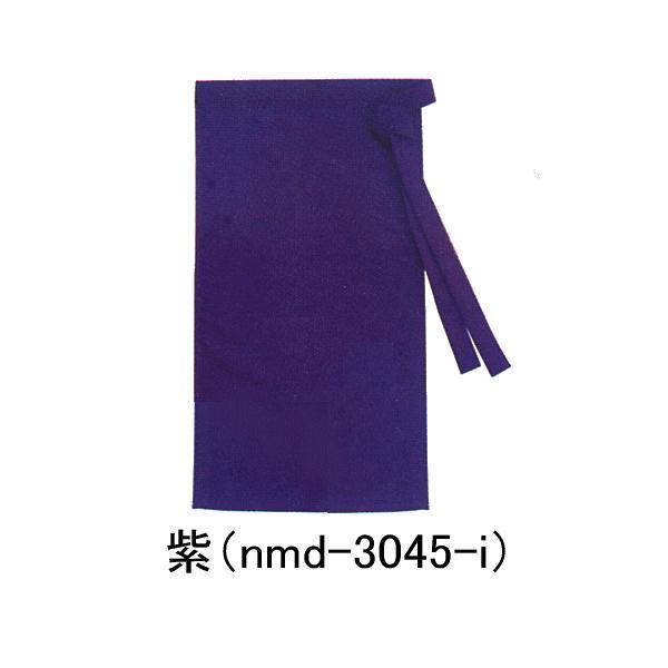 前掛け 和風 前掛 ショート エプロン 旅館 仲居 甘味処 和食店 前掛け 明紺 紫 赤 nsd-7285|kameya|02