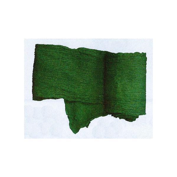 カラー巻き帯(最大幅35cm×長さ330cm・緑) 縮み加工済み兵児帯 浴衣帯 祭り帯 よさこい踊り帯 着物帯 男女兼用 舞台 ステージ用帯 [kz] kameya