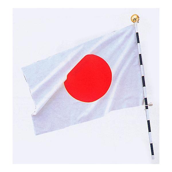 日の丸 セット 国旗 ポール3本つなぎ 日本の国旗 国民の祝日 イベント 国際会議 国際親善 フラッグ|kameya