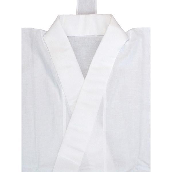 二部式襦袢 半襦袢 東スカート レディース 洗える二部式長襦袢 白 M L|kameya|02