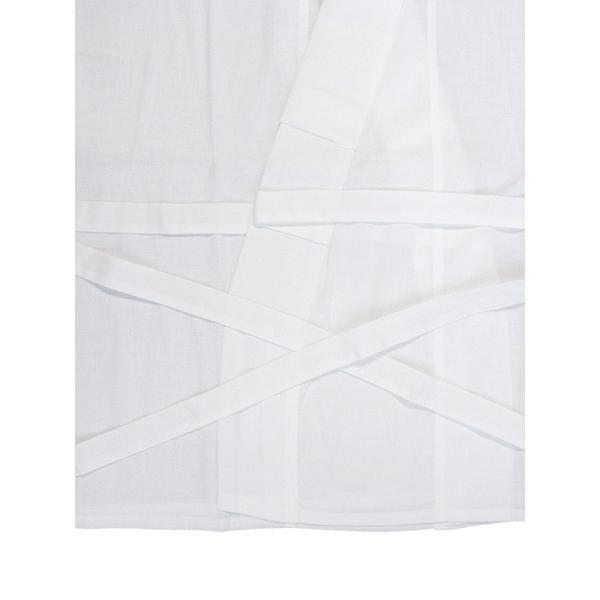 二部式襦袢 半襦袢 東スカート レディース 洗える二部式長襦袢 白 M L|kameya|03